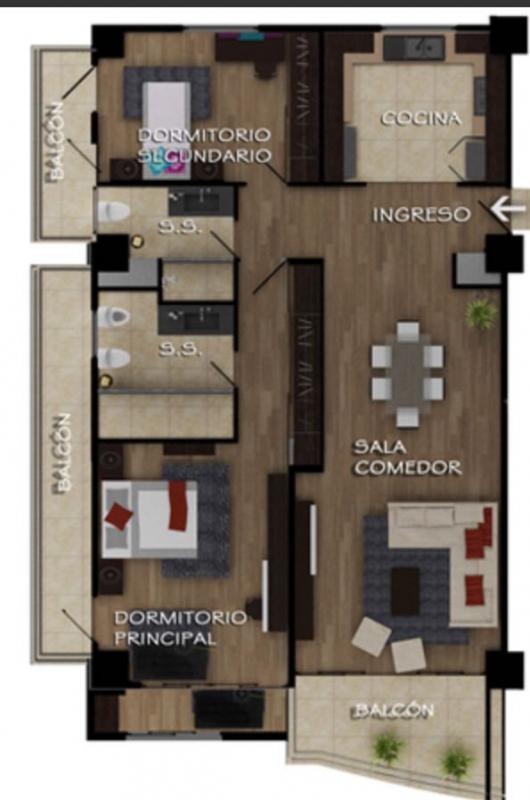 Apartamento en Cupertino - large - 96717