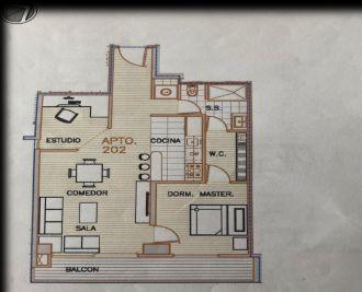 Apartamento en alquiler en Torre 14 zona 14 - thumb - 124542