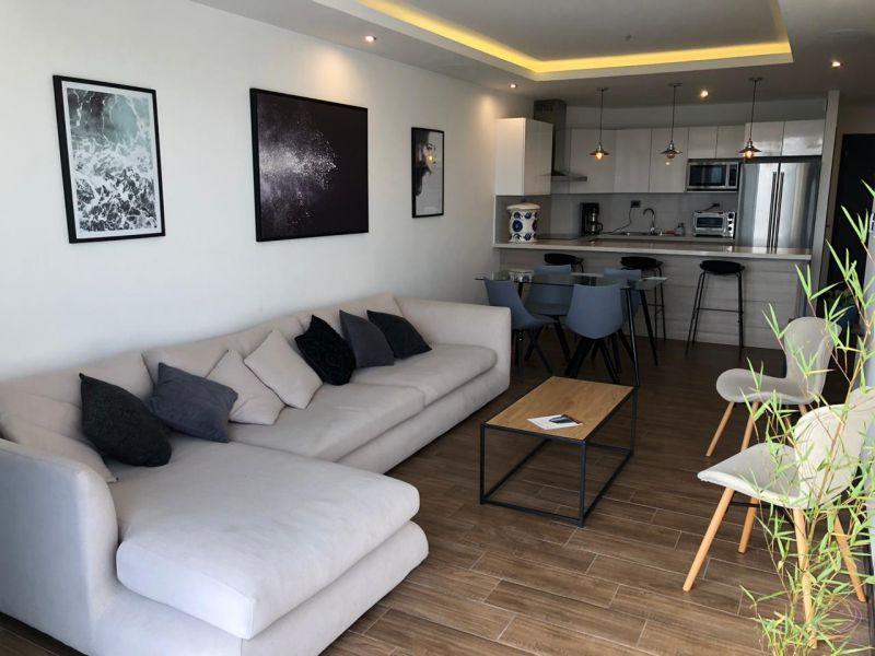 Apartamento amplio y amueblado en zona 15 - large - 124805