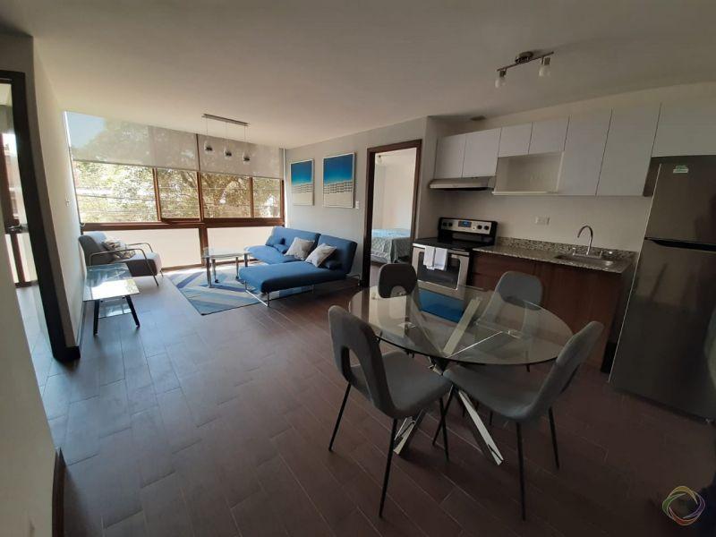 Apartamento amueblado en zona 15 - large - 129634