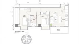 Alquilo apartamento de 2 habitaciones 4 Venezia - thumb - 140066